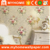 Vinyl Embossed Waterproof Wall Covering for Home Decoration
