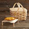 Natural Wooden Bread Basket (FT1021)