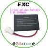 2016 Hot Sales Li-Polymer Battery 7.4V 2000mAh