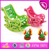DIY Wooden Educational Toy Puzzle in Chair Shape, Eco-Friendly Wooden Intelligence Toy Puzzle Chair W03b040