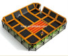 Kaiqi Professional Children′s Indoor Trampoline Playground (KQ50123B)