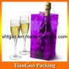 Transparent PVC Wine Bottle Bag, Soft Plastic Bottle Bag (TG-JD-020)