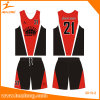 Customized Full Sublimation Basketball Uniform with High Quality Basketball Jerseys