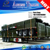 3 Axles 50tons Flatbed Side Wall Bulk Cargo Semi Trailer