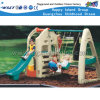 Children Plastic Toys Slide and Swing Sets Play Equipment (HC-16512)