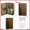Dual-Bottle PU Leather Wine Box with Accessories (6005)