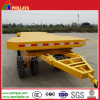 10-20ton Flatbed Turnable Drawbar Towing Full Trailer