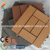 Wood Plastic Composite Tile Flooring/WPC Decking DIY Tile (30S30-5)