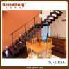 Wood Step Straight Staircase for Interior Decoration (SJ-H853)