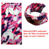 Factory Produce Custom Printed Polyester Microfiber Neck Tubular