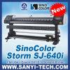 Price of Vinyl Printer 1.6m, Sinocolor Storm Sj-640I, with Epon Dx7 Head