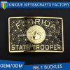 Factory Supply Wholesalers Florida Fashion Metal Enamel Belt Buckle