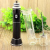 Bontek Glass Pipe Vaporizer Hand Enail for Wax Dry Herb