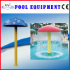 Water Play Equipment FRP Blue Color Water Mushroom