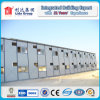 Modular Hotel Light Steel Frame Structure Low Cost House