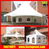 Double Roof Hexagon Square American High Peak Pinnacle Cable Tension Tent