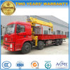 Dongfeng 16 Tons 4 Axles Hydraulic Truck Crane 8*4 Crane Truck