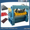 Ce Certificated Roof Panel Cold Roll Forming Machine Made in China