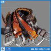 Classic Braided Full Grain Leather Belt, Measures 32 to 44-Inch, Various Colors Are Available