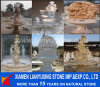 Carved Marble Fountain Design for Garden & Hotel Decoration