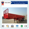 3 Axles Side Wall Semi Trailer for Cargo Transport
