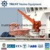 Single Arm Slewing Boat Davit Crane