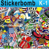 Sticker Bomb Stickers Graffiti Art Vinyl Decal Graphics Car Full Body Vinyl Sticker