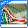 Red and White Color Giant Inflatable Adult Yacht Water Slide for Sale