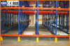 Commercial Radio Shuttle Pallet Runner Racking