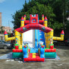 High Quality Giant Big Cartoon Inflatable Slide Castle for Kids