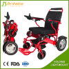 Travelling Lightweight Electric Folding Wheelchair for Disabled