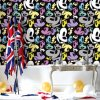 Kids Bedroom Decor Wall Paper Wallpaper with PVC Washable