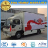 4X2 Mobile Stage Performance Vehicle 20 M2 Extendable Stage Truck