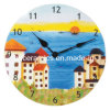 Ceramic Wall Clock, Sublimation Coated Wall Clock