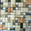 Mosaic Tile, Crystal Mosaic, Cracked Mosaic, Glass Mosaic (HGM287)