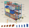 Warehouse Steel Conventional Pallet Racking with CE Approval