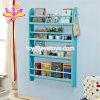 Customize Modern Rack Storage Wooden Kids Wall Bookshelf with 4 Tiers W08c250