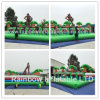 Crazy Inflatable Race Game/Inflatable Funny Race Track for Outdoor