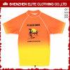 Sublimayion Yellow Orange Short Sleeve Kids Rash Guard (ELTRGI-55)