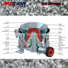 Hydraulic Cone Crusher with High Capacity, Low Wear Cost