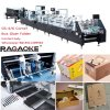 Hydraulic Control Super Quality Low Noise Four and Six Corner Gluing Folding Machine