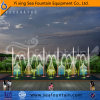 LED Light Interactive Various Water Type Multimedia Music Fountain