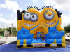 Famous Carton Air Trampoline Inflatable Bouncers for Kids