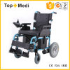 Folding Lithium Battery Electric Motor Powered Wheelchair