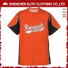 Newest Design Custom Print Orange Baseball Jersey (ELTBJI-2)
