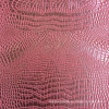 Pink Gold PVC Faux Crocodile Leather
