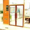 2.0mm Thickness Durable Aluminum Glass Spring Garage Doors (FT-D120/190)