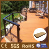 Easily Cleaning WPC Material Wood Grain Composite Decking
