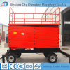 14m Working Height Hydraulic Vehicle Lift for Maintenance