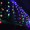 Bulk Selling Window Icicle Christmas Ornament Lights for Garden Decoration